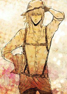 OMG older Armin! *faints from fangirling*
