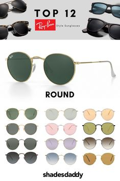 269974d9325 Ray Ban Round Metal Gray   Brown Lens Sunglasses