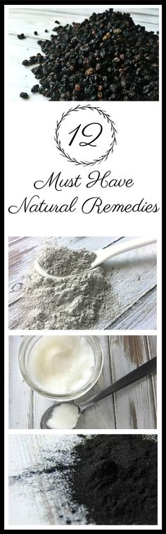 It can be confusing with so many natural remedies out there. Here are 12 Must Have Natural Remedies