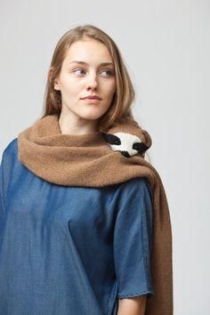 sloth stole by Ninafuehrer on Etsy