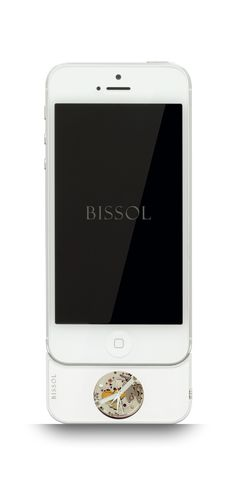 BISSOL FOR IPHONE 5S & IPHONE 5 – 2000 CALIBRE:  Rhodium #Bissol #timepiece #watch #mechanical #iphone #iphone5S #iphone5