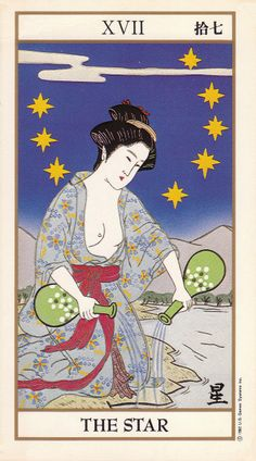 The Star - Ukiyoe Tarot