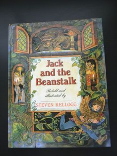 Jack and the Beanstalk by Steven Kellogg Prebound Book (English) Free Shippi