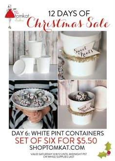 Day 6 :: The 12 Days of Christmas SALE!