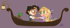Chibi Disney Princess Rapunzel | Tangled Chibi Romance by David GilsonSource: David Gilson's Website
