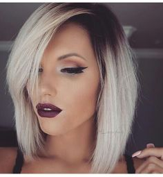 Perfect ombré. Love makeup.                                                                                                                                                                                 More