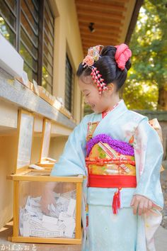 七五三の出張撮影 @東京都港区・赤坂氷川神社