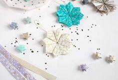 Etoile en papier japonais Adeline Klam