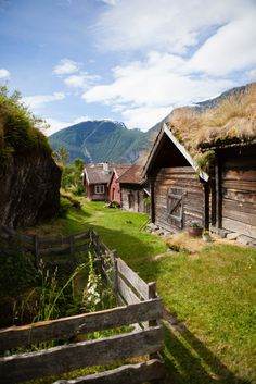 A community-owned farm in Otternes, Norway.