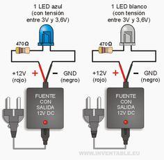 LEDs a 12V muy fácil                                                       …