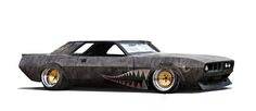 Aaron Beck's E BODIES - Rusty Slammington 'Cuda