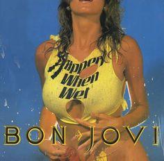 Bon Jovi Slippery When Wet Concert Tour Program Book Programme Bon Jovi Live, Jon Bon Jovi, Bon Jovi Album, 80s Hair Metal, Best Selling Albums, Musica Disco, Slippery When Wet, Metal Albums, Sound Of Music