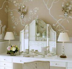 Vanity. Suzanne Kasler Interiors