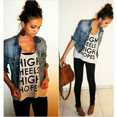 High heels high hopes shirt