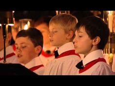 Kings College Choir - Christmas Carols - YouTube - 48 minutes of beautiful carols and visuals