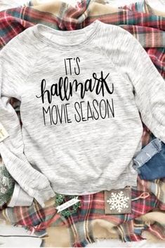 15 Gifts That Will Make Hallmark Movie Fans Cry Happy Tears 12 perfect Christmas gifts for anyone who truly believes that Hallmark movies deserve to be watched Rolls Royce Silver Shadow, Hallmark Christmas Movies, Hallmark Movies, Movie Gift, Nerd Gifts, Movie Shirts, Vinyl Shirts, Trends, Diy Shirt