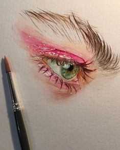 What is Your Painting Style? How do you find your own painting style? What is your painting style? Watercolor Eyes, Watercolor Portraits, Watercolor Paintings, Drawing Portraits, Watercolors, Art Sketches, Art Drawings, Drawing Drawing, Studios D'art