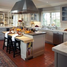 Low bar, shelf ends. Kitchen Lower Breakfast bar Design Ideas, Pictures, Remodel and Decor