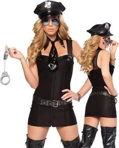Above The Law Sexy Police Costume Sexy Copper Costume Cops Costume Army Girl Costumes, Police Halloween Costumes, Cop Costume, Costume Sexy, Military Costumes, Cosplay Costumes, Rave Costumes, Adult Costumes, Ropa Interior Online