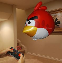 Remote Controlled Flying Angry Bird
