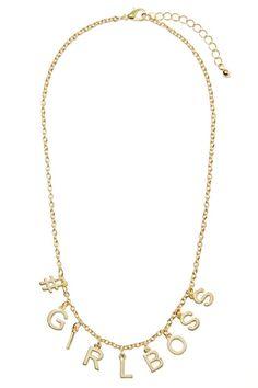 #GIRLBOSS Chain Necklace