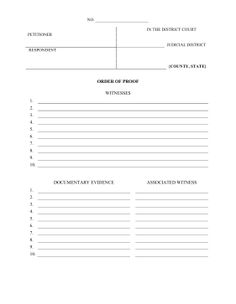 pleading paper template pdf