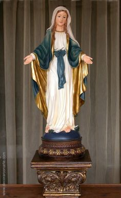 Virgin Mary Statue, Lady Mary, Blessed Virgin Mary, Blessed Mother, Mother Mary, Madonna, Holi, Altar, Sacramento