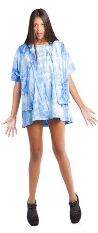 TIE-DYE BASEBALL TOP Baseball Tops, Tie Dye, Cover Up, Casual, Shopping, Collection, Dresses, Fashion, Vestidos