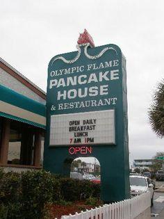 Olympic Flame Pancake House Myrtle Beach Sc