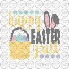 BUY NOW ON ETSY Happy Easter