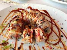toro sushi roll. Love sushi. Would love to make my own.