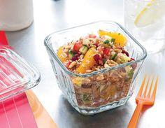 Mediterranean Citrus Grain Salad