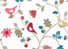 Pretty Birds and Florals FM4067