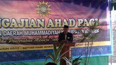 Ahad Pagi PDM Jember Ajak Warga Muhammadiyah Berinteraksi Dengan Al-Qur'an #ahad pagi Ketua PDM majelis tabligh pengajian