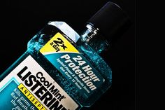 The best method I found for cleaning grout in my tile floors is to scrub the grout with antiseptic mouthwash and then rinse it off. No need to buy an expensive brand - I used mouthwash from the dollar store .  8 Unusual Uses For Antiseptic Mouthwash | Homesessive