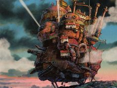 Howl's Moving Castle is an anime from studio Howl's Moving Castle Movie, Howls Moving Castle, Diana, Quiet Girl, Movie Subtitles, Steampunk, Evil Witch, Ghibli Movies, Animation Movies
