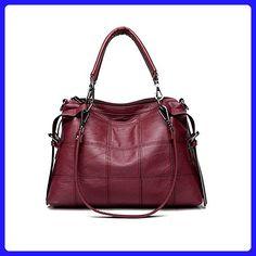 Tuladuo 2017 Fashion Thread PU Hobos Bag Women s Messenger Bag Femme Shoulder  Bags Large Luxury Brand Ladies Handbags Sac A Main e50918ff4b055