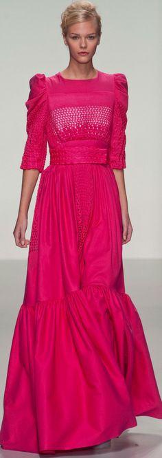London Fashion Week Spring 2014 Bora Aksu