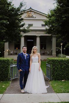 BERRY, NSW. EMMA +  MATT. Ceremony and reception Berry Courthouse, Stylist @BlessedDaysaus, Catering Rabbit & Co. #AustralianWeddings #AustralianStyle