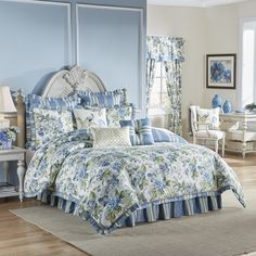 Waverly Floral Engagement 4 Piece Bedding Set & Reviews   Wayfair