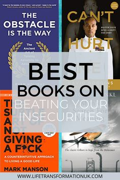 If you're looking for the best books on overcoming insecurity, then look no further. These 5 amazing books have changed countless lives and they continue. Best Books To Read, I Love Books, Amazing Books, Good Books, Positive Thinking Books, Modern Philosophy, Books For Self Improvement, Personal Development Books, Summer Reading Lists