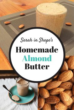 Supermarket nut butters often have added sugars and hydrogenated oils, so why not make your own with the homemade almond butter recipe? All you need is almonds and patience. Click the image to find out how simple it is to make your own almond butter at home.