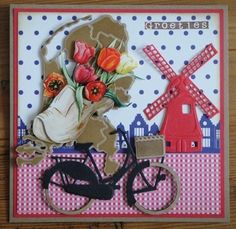 Air Balloon, Balloons, Rena, Wind Of Change, Holland, 3d Cards, Marianne Design, Card Making, Greeting Cards