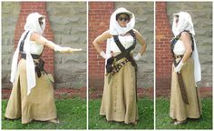 Mummy Huntress Costume (STEAMPUNK) - CLOTHING - Knitting, sewing, crochet, tutorials, children crafts, jewlery, needlework, swaps, papercrafts, cooking and so much more on Craftster.org