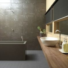 Durat Tub, Color 540 - Love post-consumer recycled materials in use.