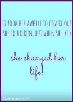 Running changed my life