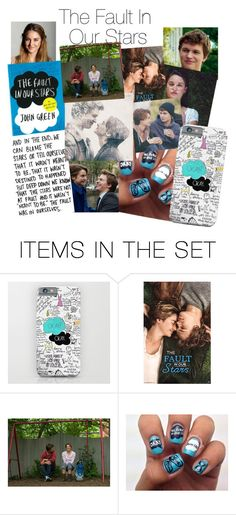 """The Fault In Our Stars"" by dramagirl4 ❤ liked on Polyvore featuring art, AugustusWaters and HazelGrace"