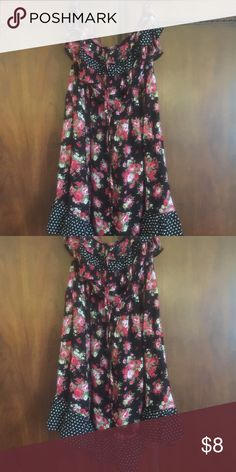 Dress Floral dress Dresses Strapless