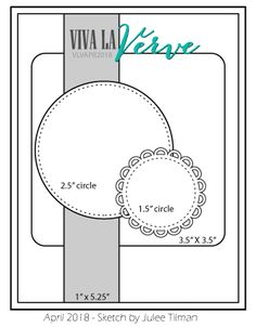 Viva la Verve Sketches: April 2018 Viva la Verve Sketch Challenge
