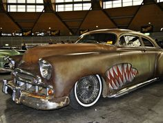 Chopped, leadsled , rat